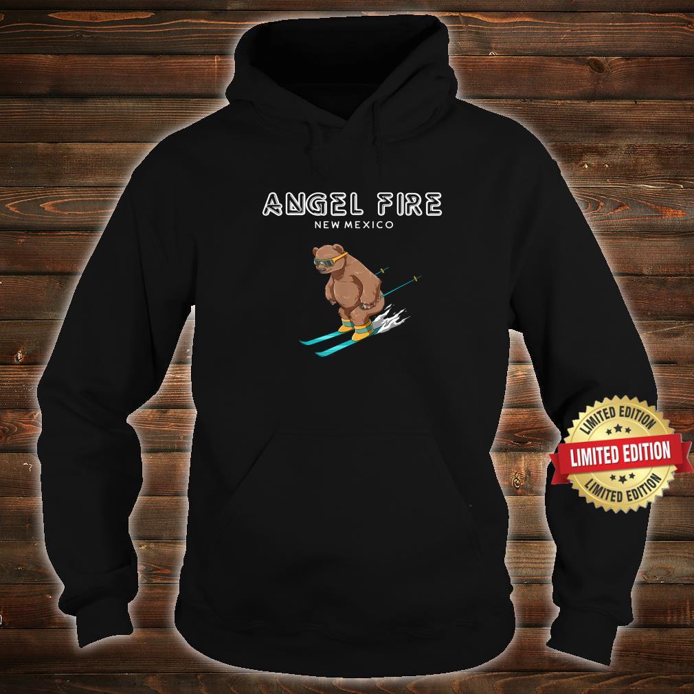 Angel Fire New Mexico Ski Grizzly Bear Shirt hoodie