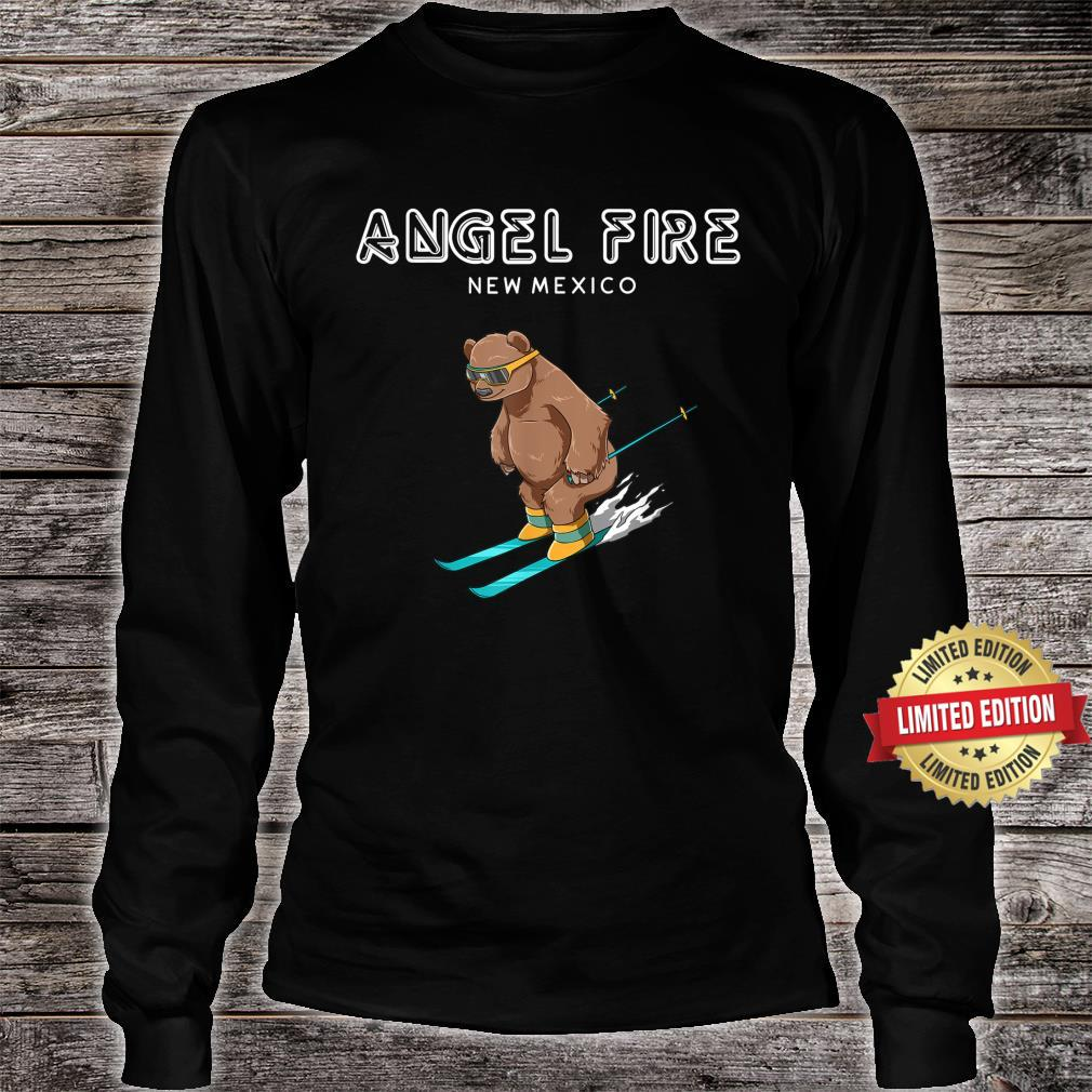 Angel Fire New Mexico Ski Grizzly Bear Shirt long sleeved