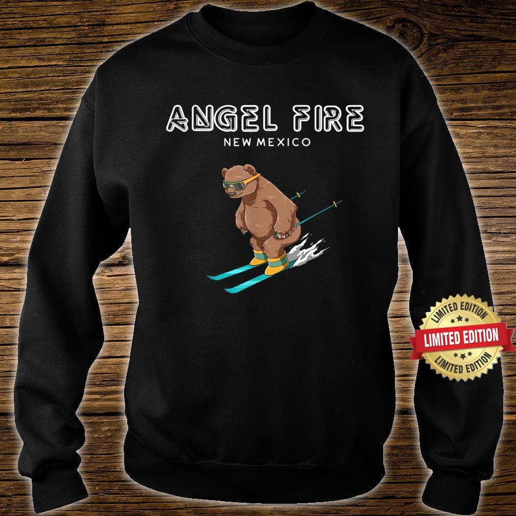Angel Fire New Mexico Ski Grizzly Bear Shirt sweater