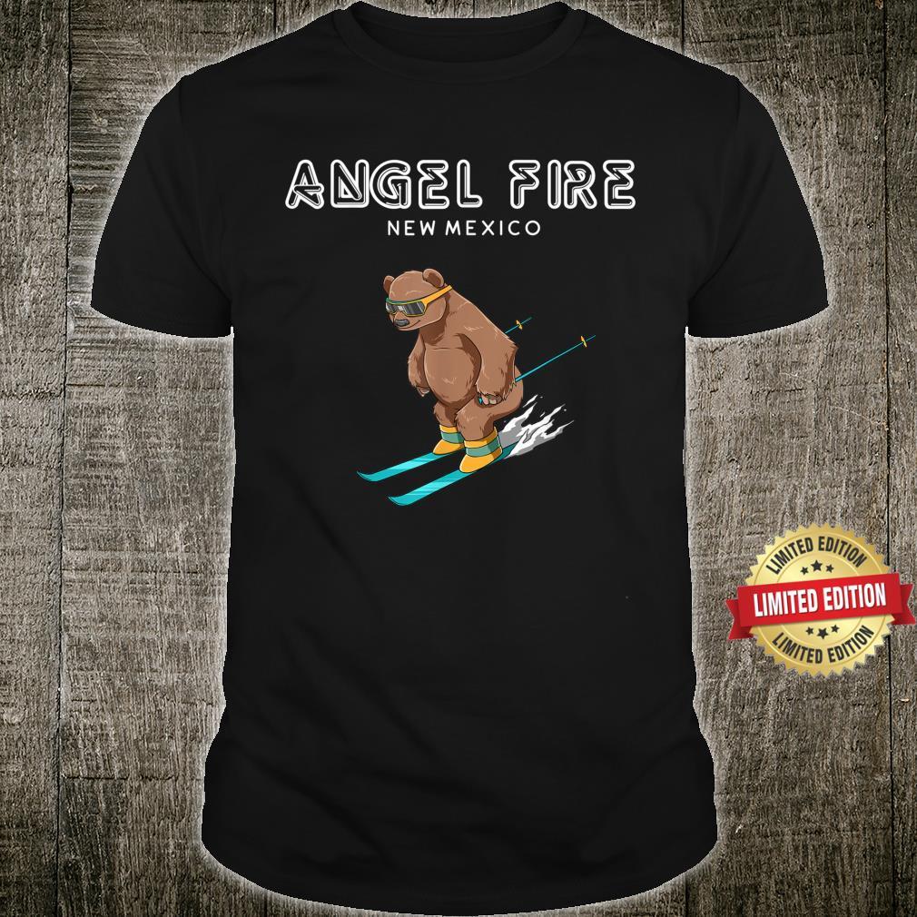 Angel Fire New Mexico Ski Grizzly Bear Shirt
