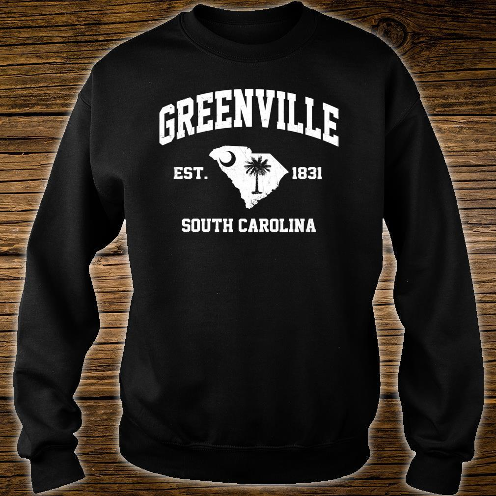 Greenville South Carolina SC vintage State Athletic style Shirt sweater