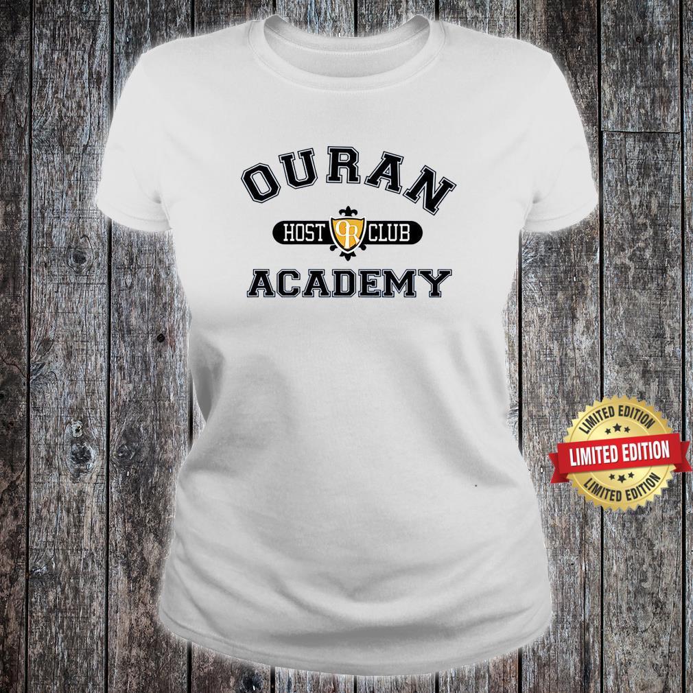 Ouran Host Club Academy Crewneck Shirt ladies tee