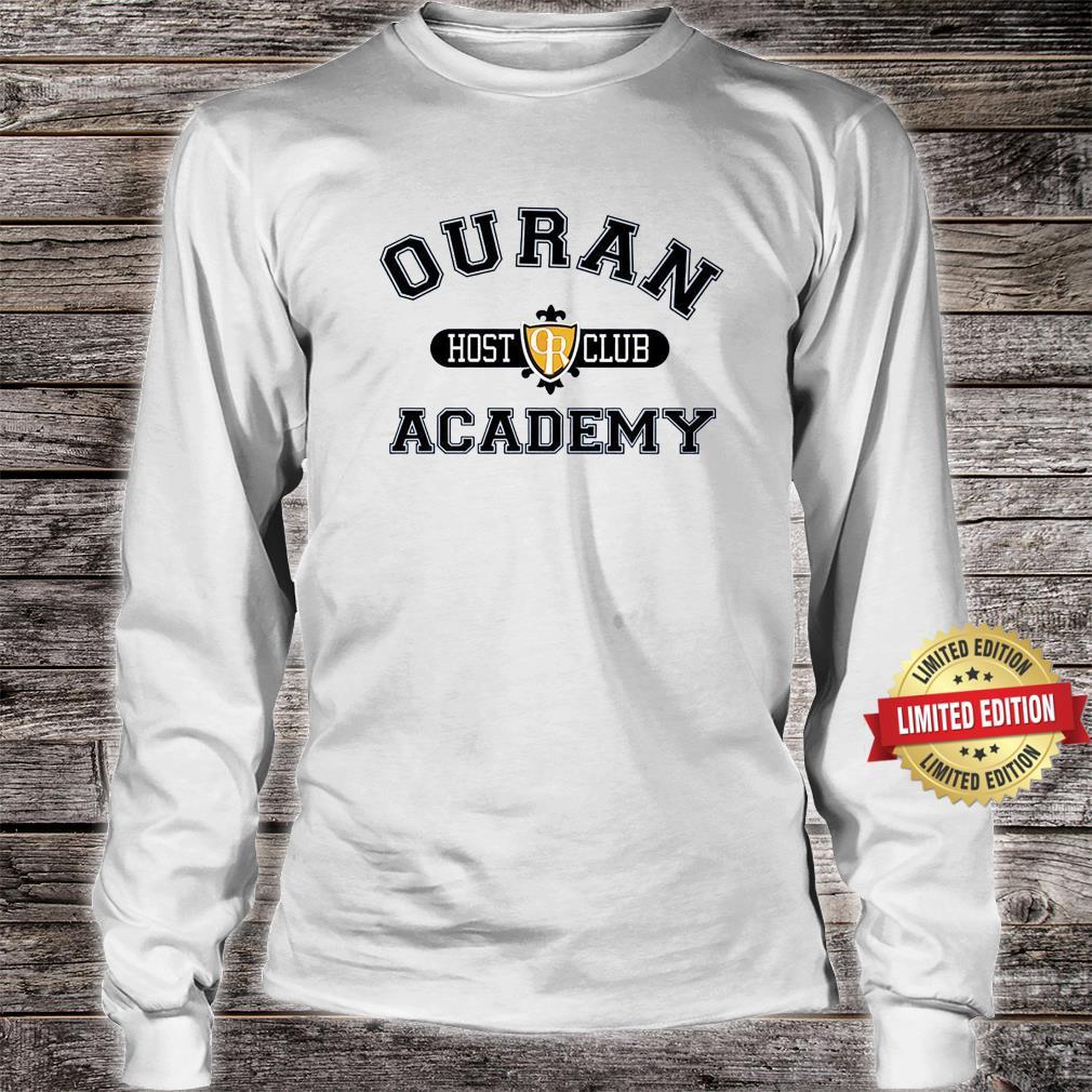 Ouran Host Club Academy Crewneck Shirt long sleeved