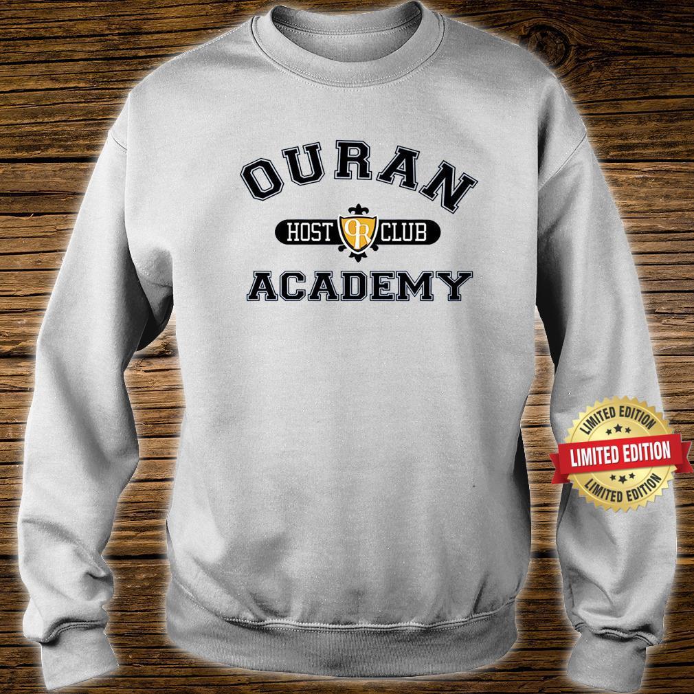 Ouran Host Club Academy Crewneck Shirt sweater