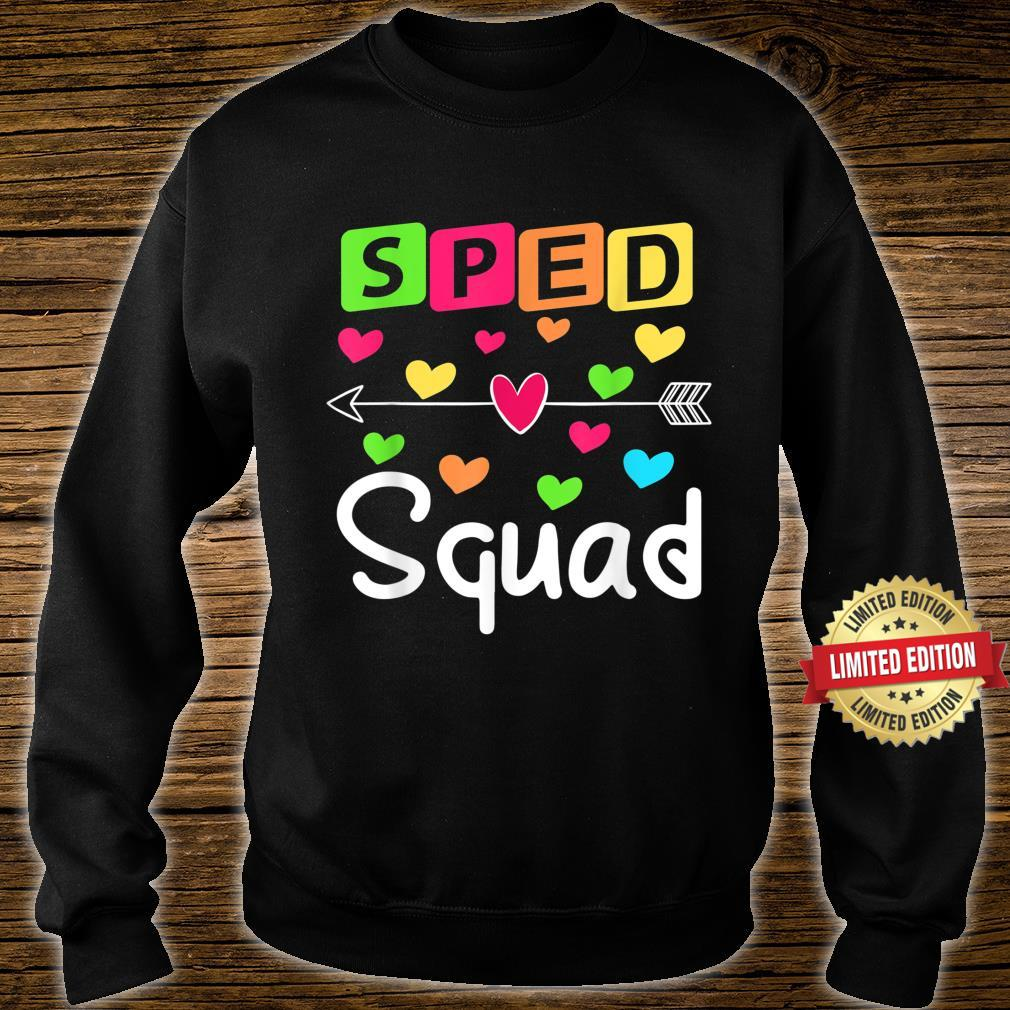 SPED Squad SPED Teacher Special Education Shirt sweater