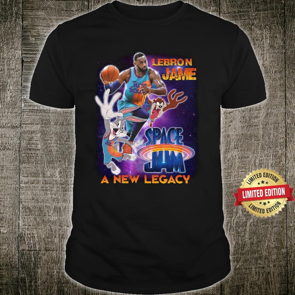 Space Jam A New Legacy Lebron James Shirt