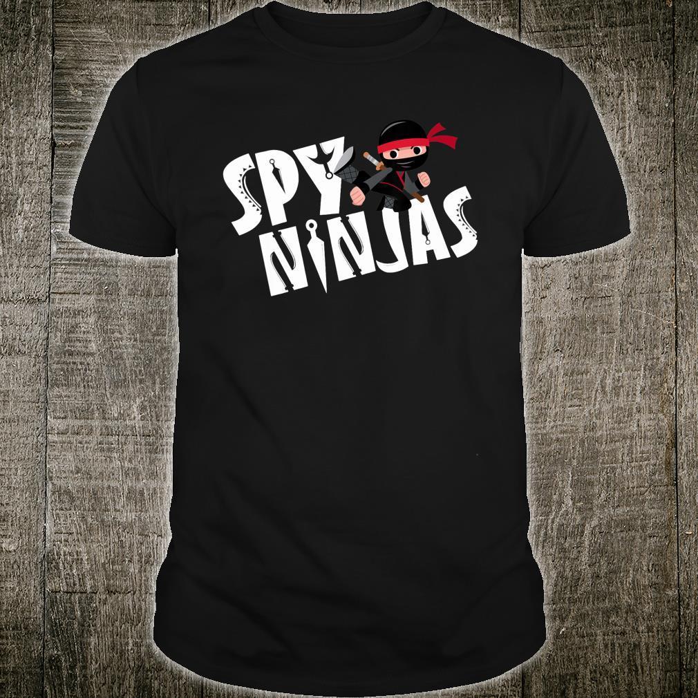 Spy Gaming Ninjas Gamer Shirt