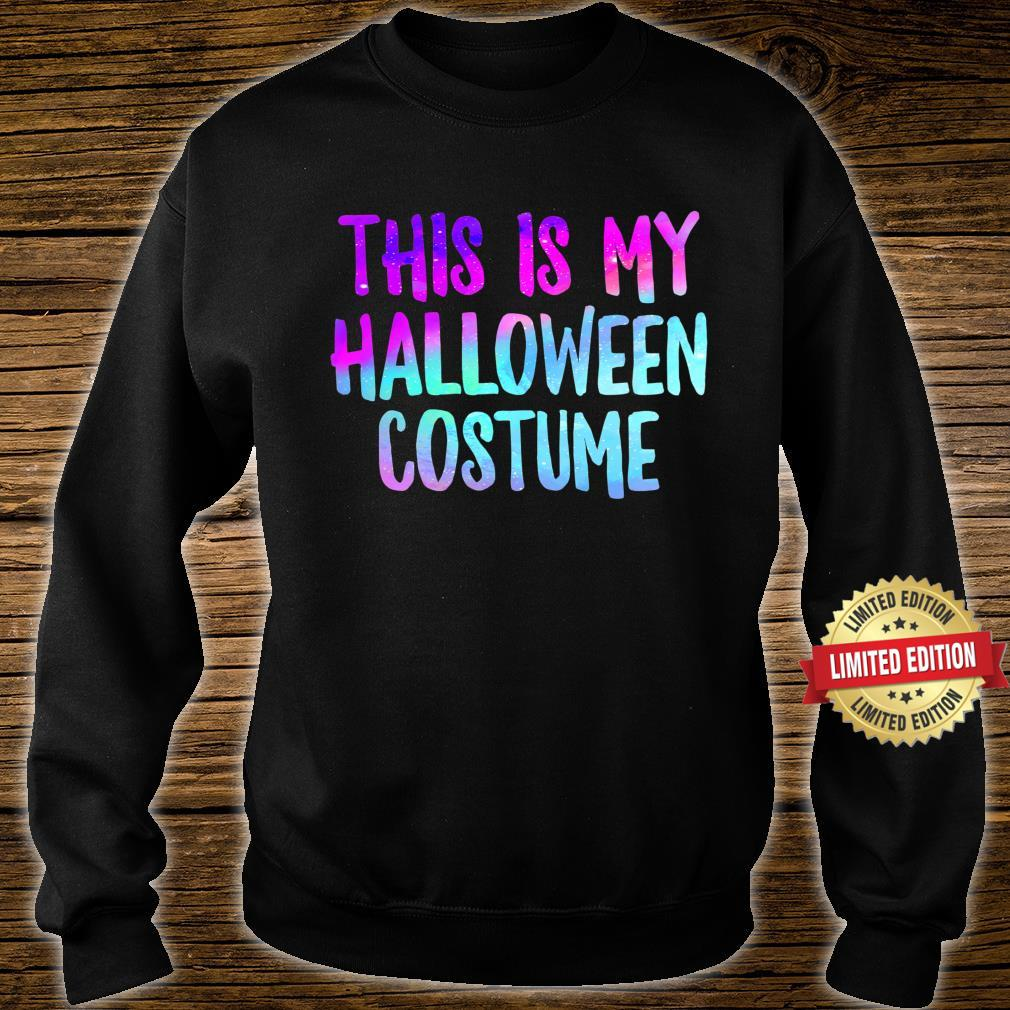 This Is My Halloween Costume Fall Trick Or Treat Lazy Spooky Shirt sweater