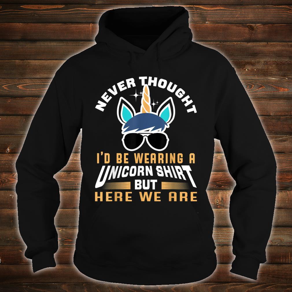 Unicorn Shirt For Papa Dad Grandpa Big Brother Shirt hoodie
