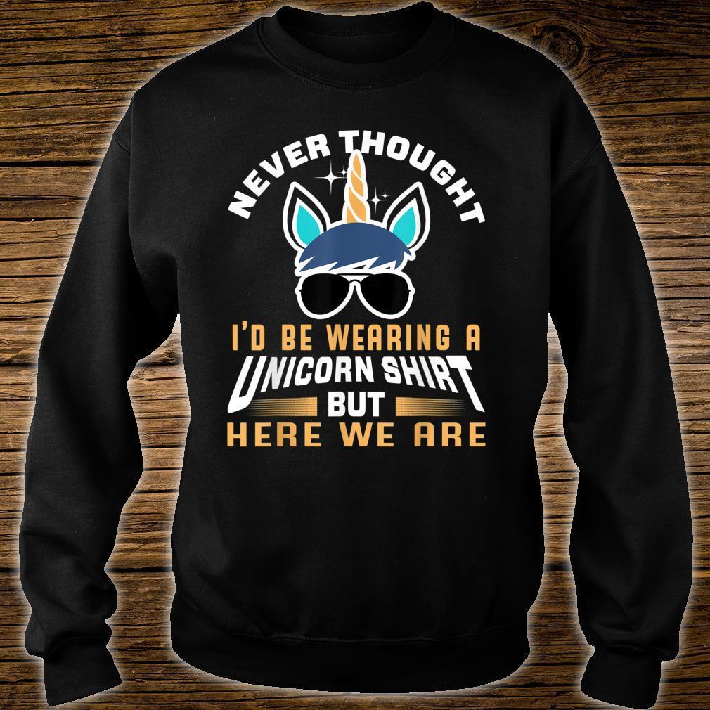 Unicorn Shirt For Papa Dad Grandpa Big Brother Shirt sweater