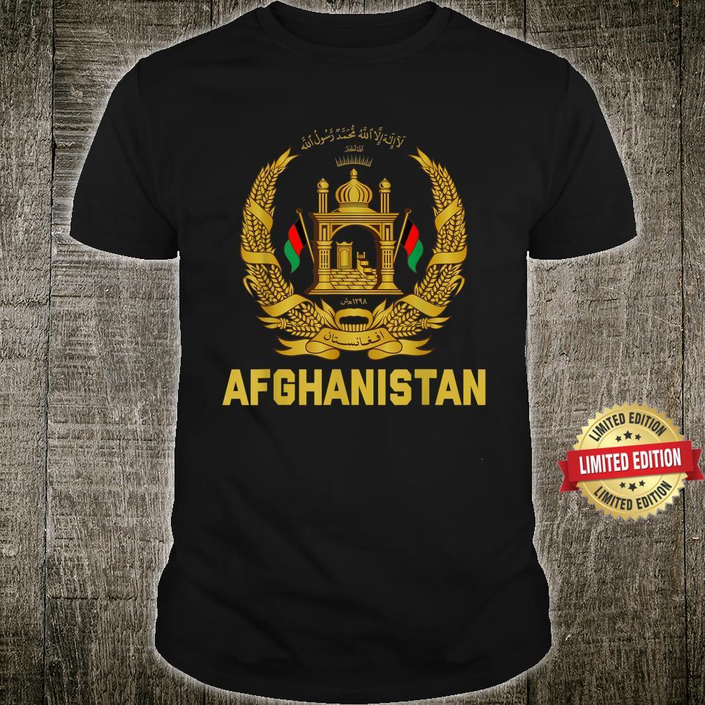 Vintage Afghanistan Afghan Flag United state Veteran Support Shirt