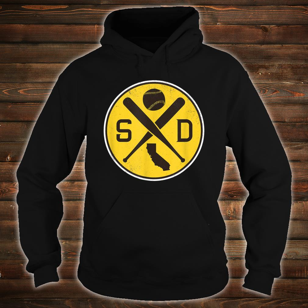 Vintage San Diego Baseball Bats SD Game Day Padre Shirt hoodie