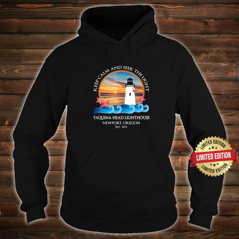 Yaquina Head Lighthouse Newport Oregon Coast Souvenir Shirt hoodie