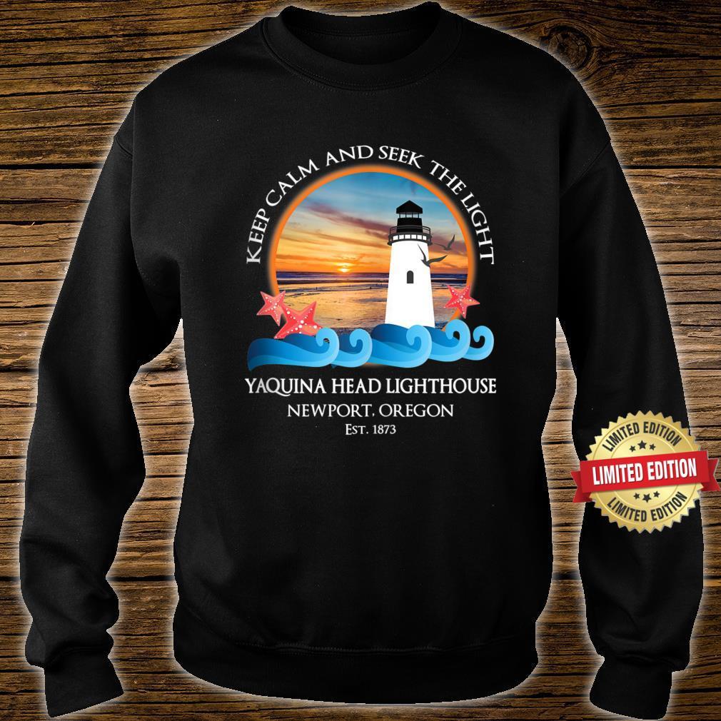 Yaquina Head Lighthouse Newport Oregon Coast Souvenir Shirt sweater