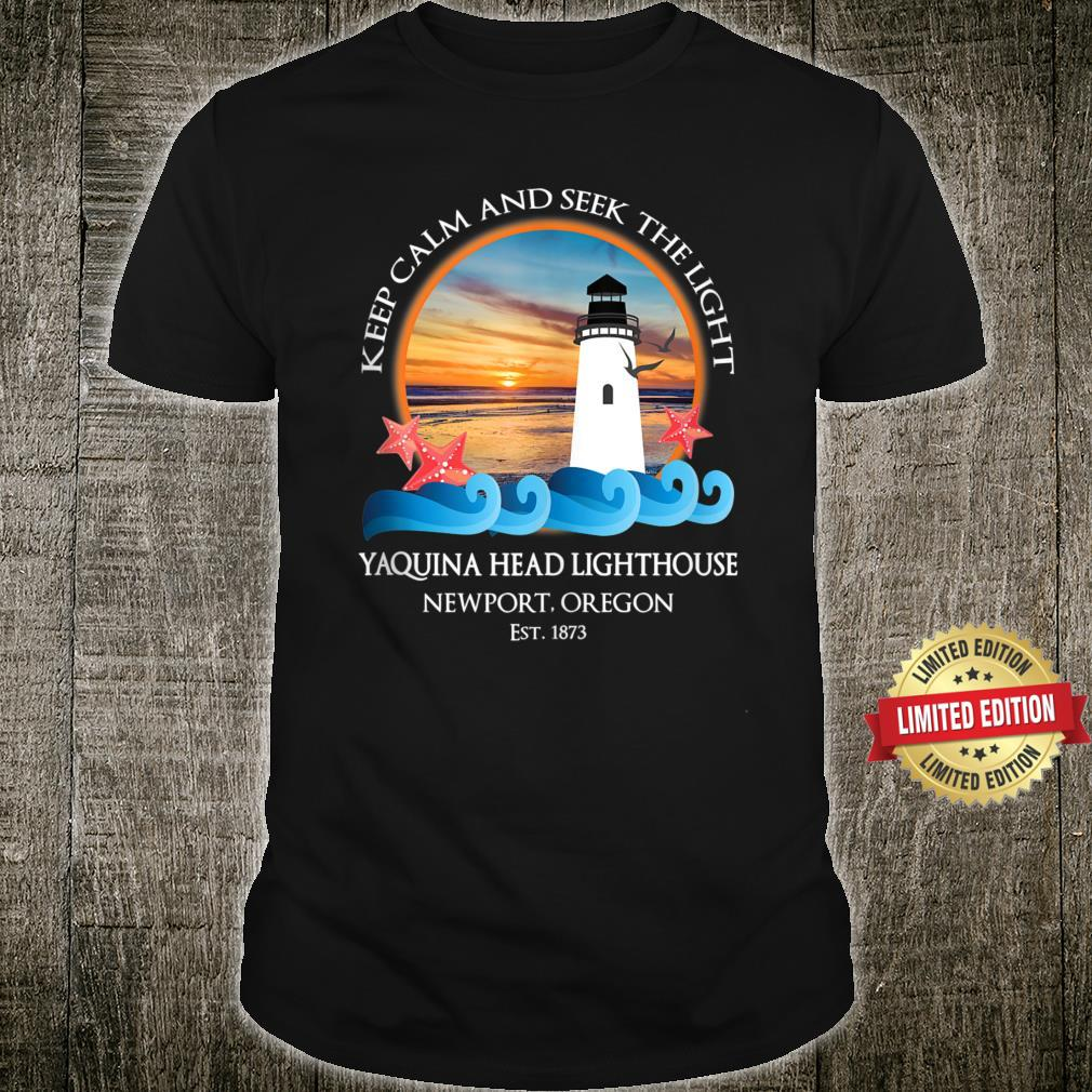 Yaquina Head Lighthouse Newport Oregon Coast Souvenir Shirt
