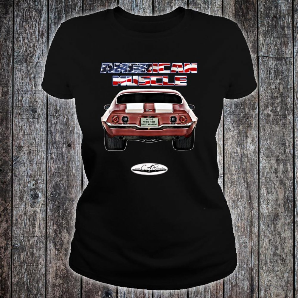 Classic Oldtimer Muscle Car Hot Rod Lowrider Youngtimer T-Shirt