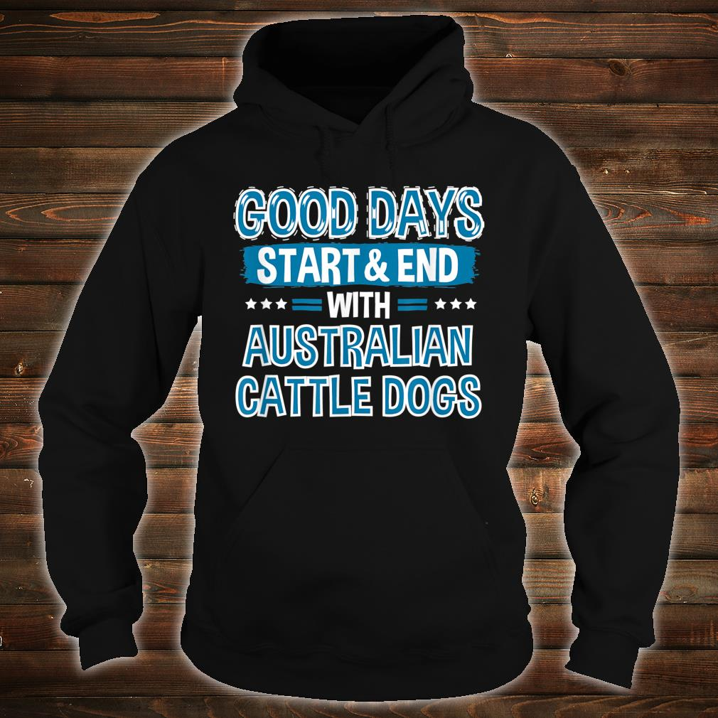 AUSTRALIAN CATTLE DOGS Lover Clothes Australian Cattle Dog Shirt hoodie