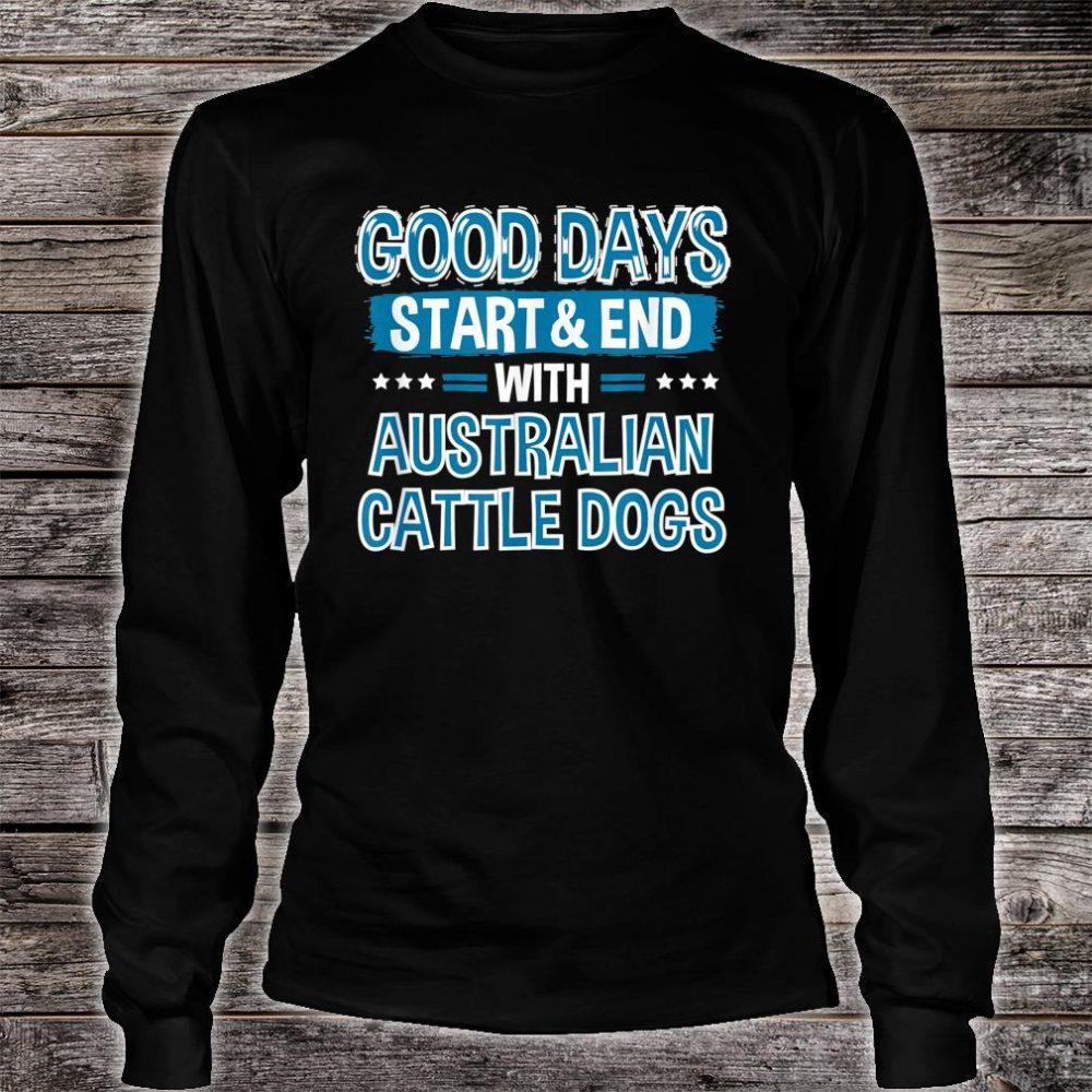AUSTRALIAN CATTLE DOGS Lover Clothes Australian Cattle Dog Shirt long sleeved