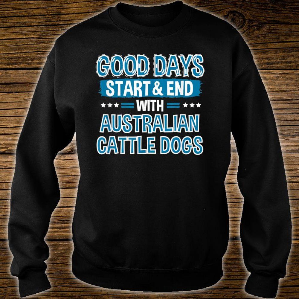AUSTRALIAN CATTLE DOGS Lover Clothes Australian Cattle Dog Shirt sweater