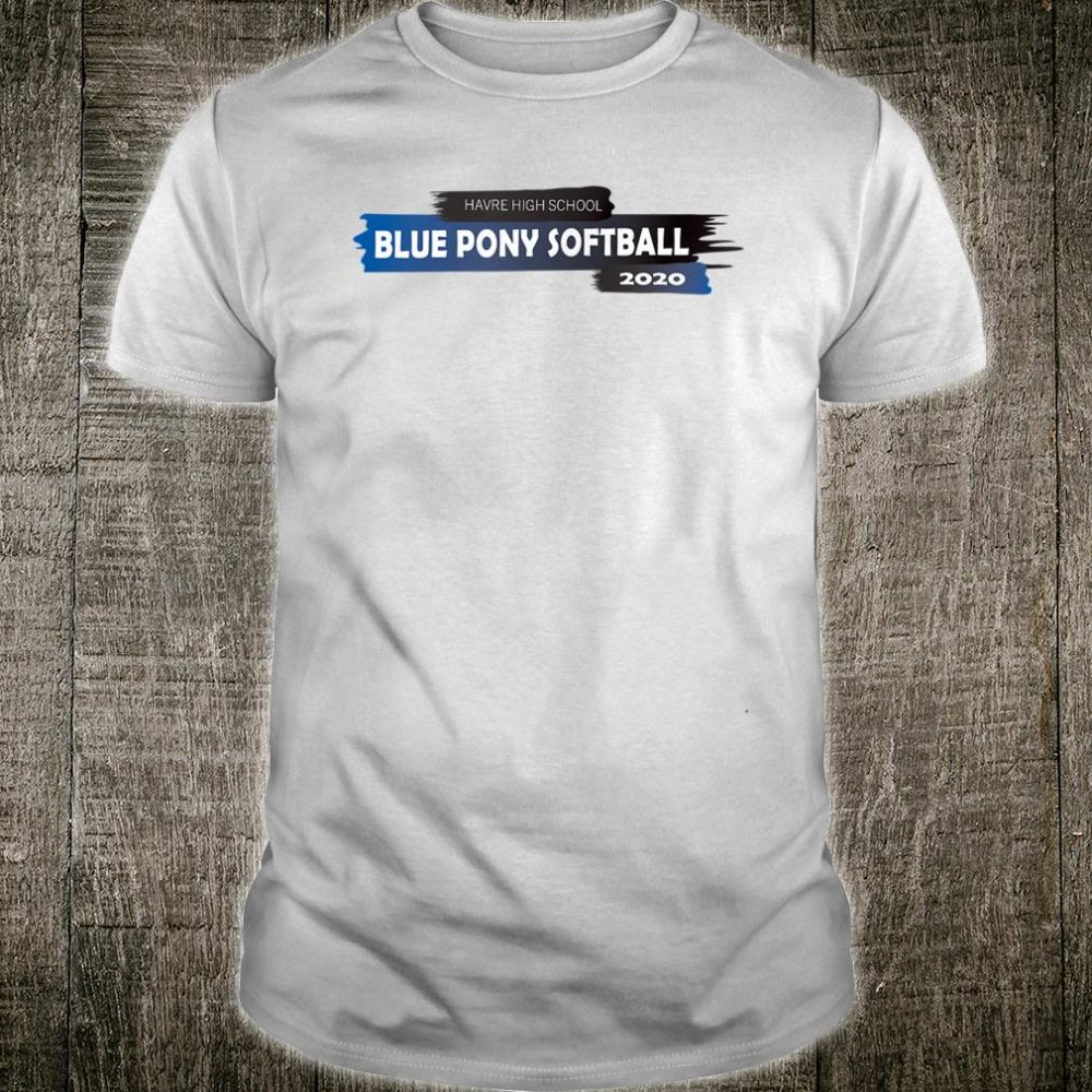 Blue Pony Softball 2020 Shirt