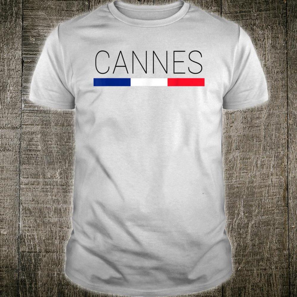Cannes Cote d'Azur French Shirt