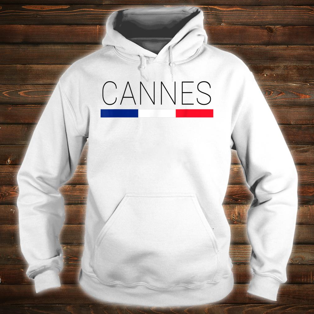 Cannes Cote d'Azur French Shirt hoodie