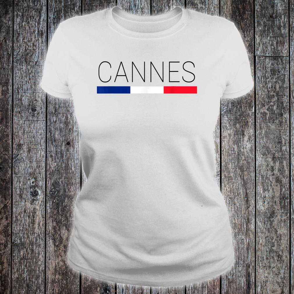 Cannes Cote d'Azur French Shirt ladies tee