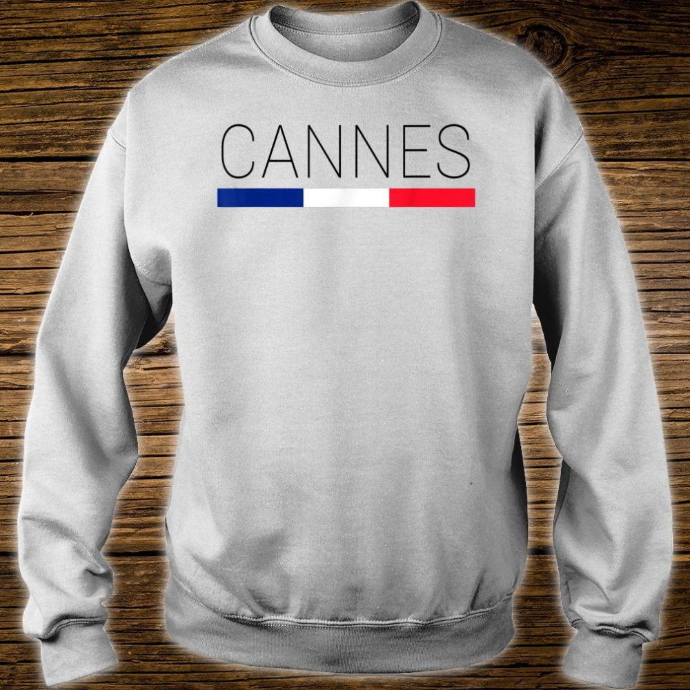 Cannes Cote d'Azur French Shirt sweater