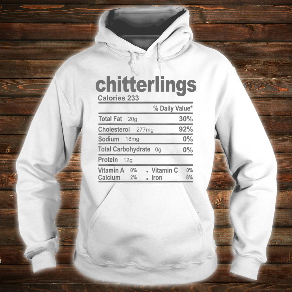 Official Chitterlings Nutrition Facts