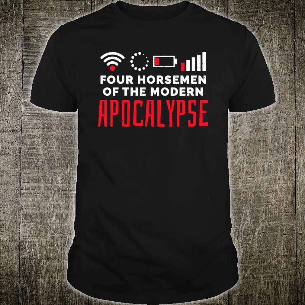 Gamer The Four Modern Apocalyptic Riders Shirt