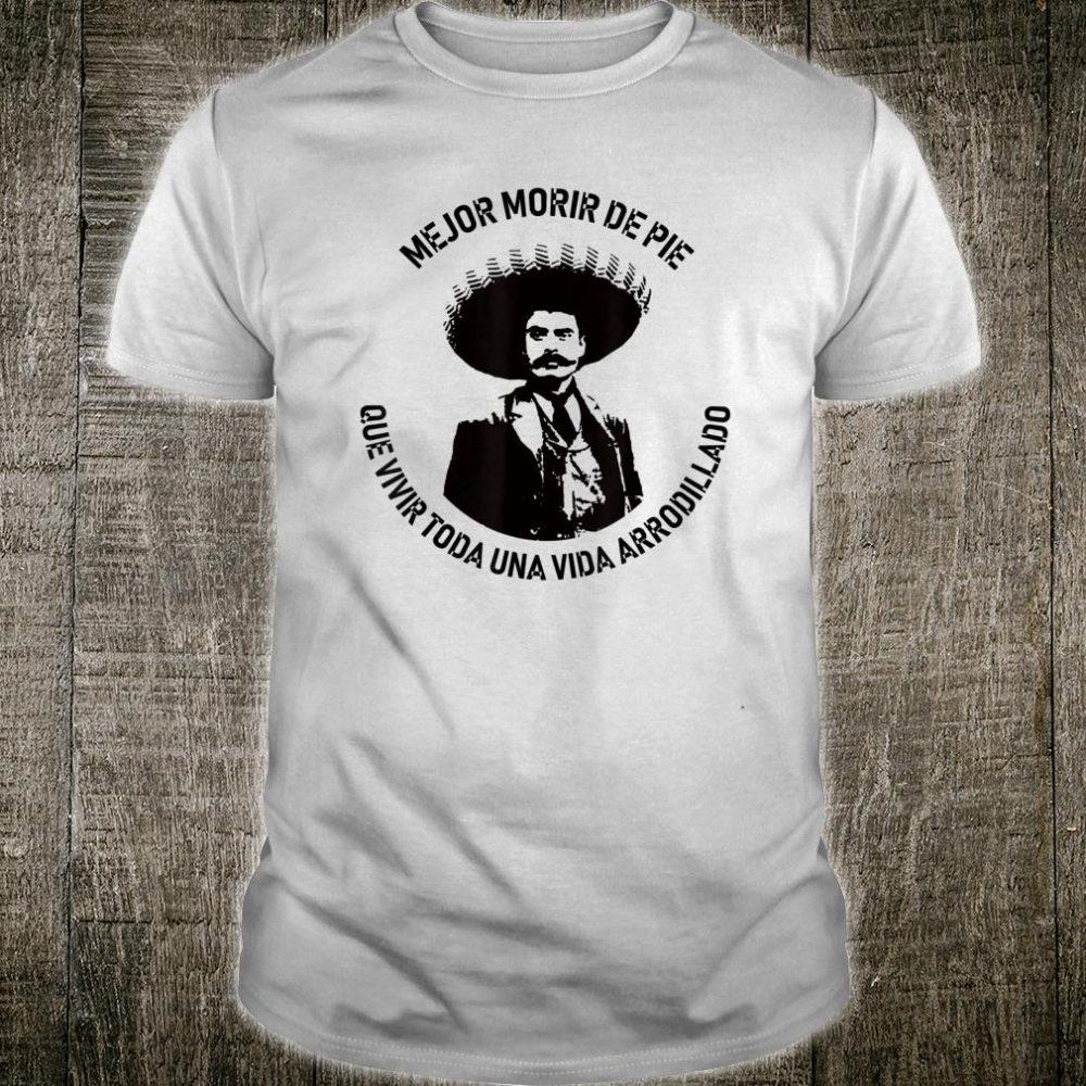 General Emiliano Zapata Mexican Revolution Hero Shirt