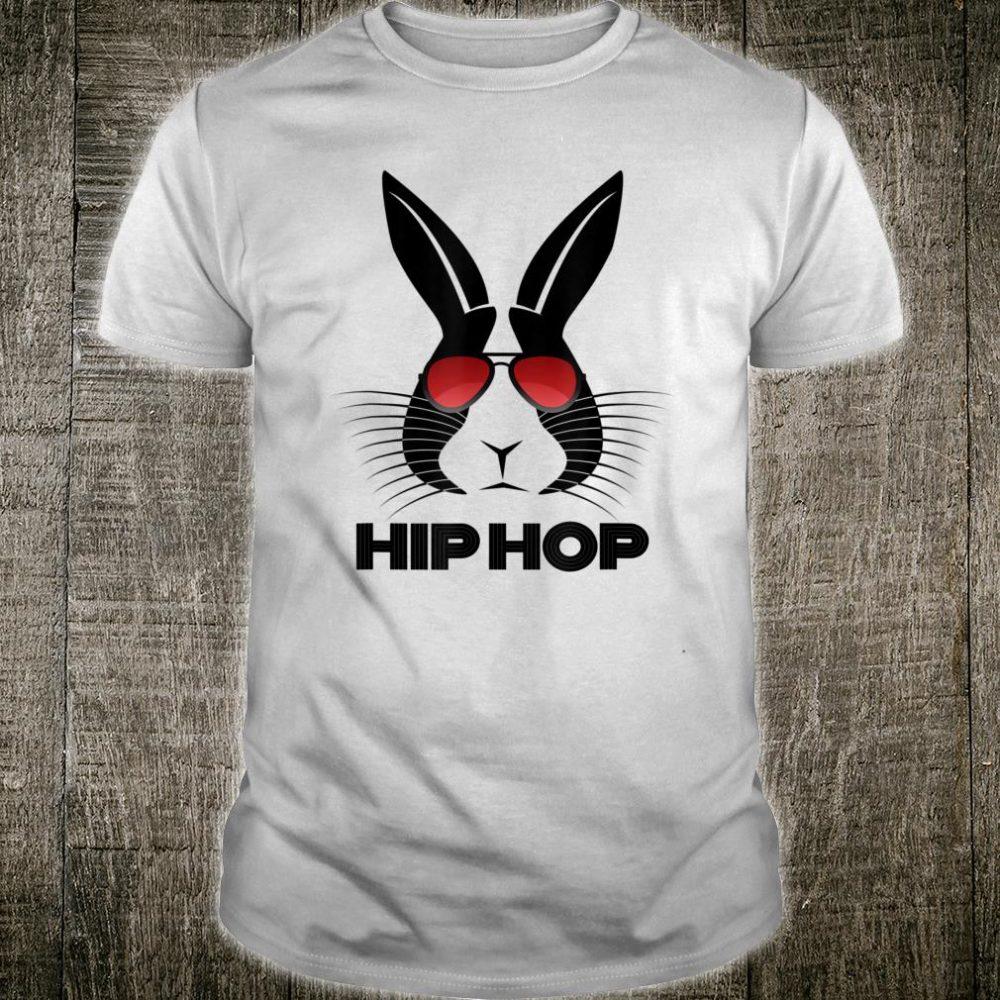 Hip Hop Easter Bunny Sunglasses Shirt