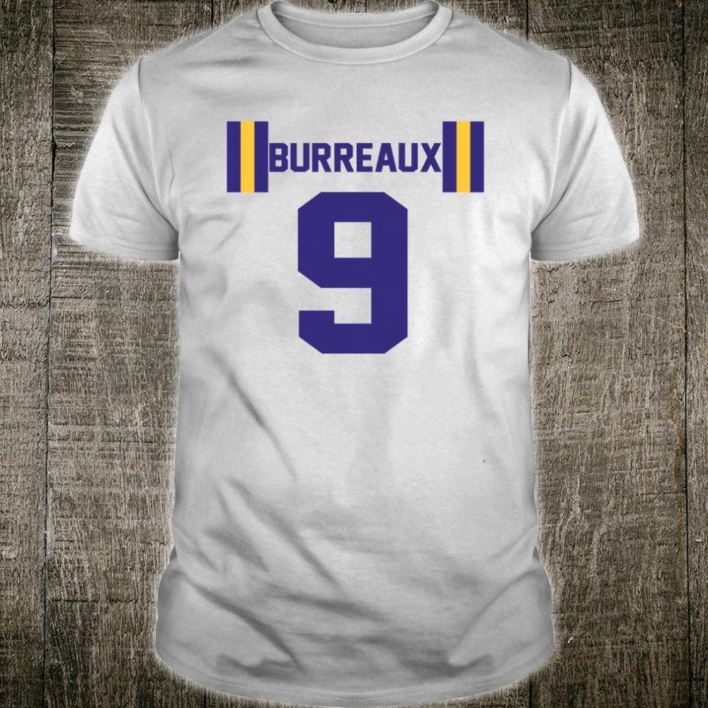 JOE BURREAUX NUMBER 9 FRONT ONLY Shirt