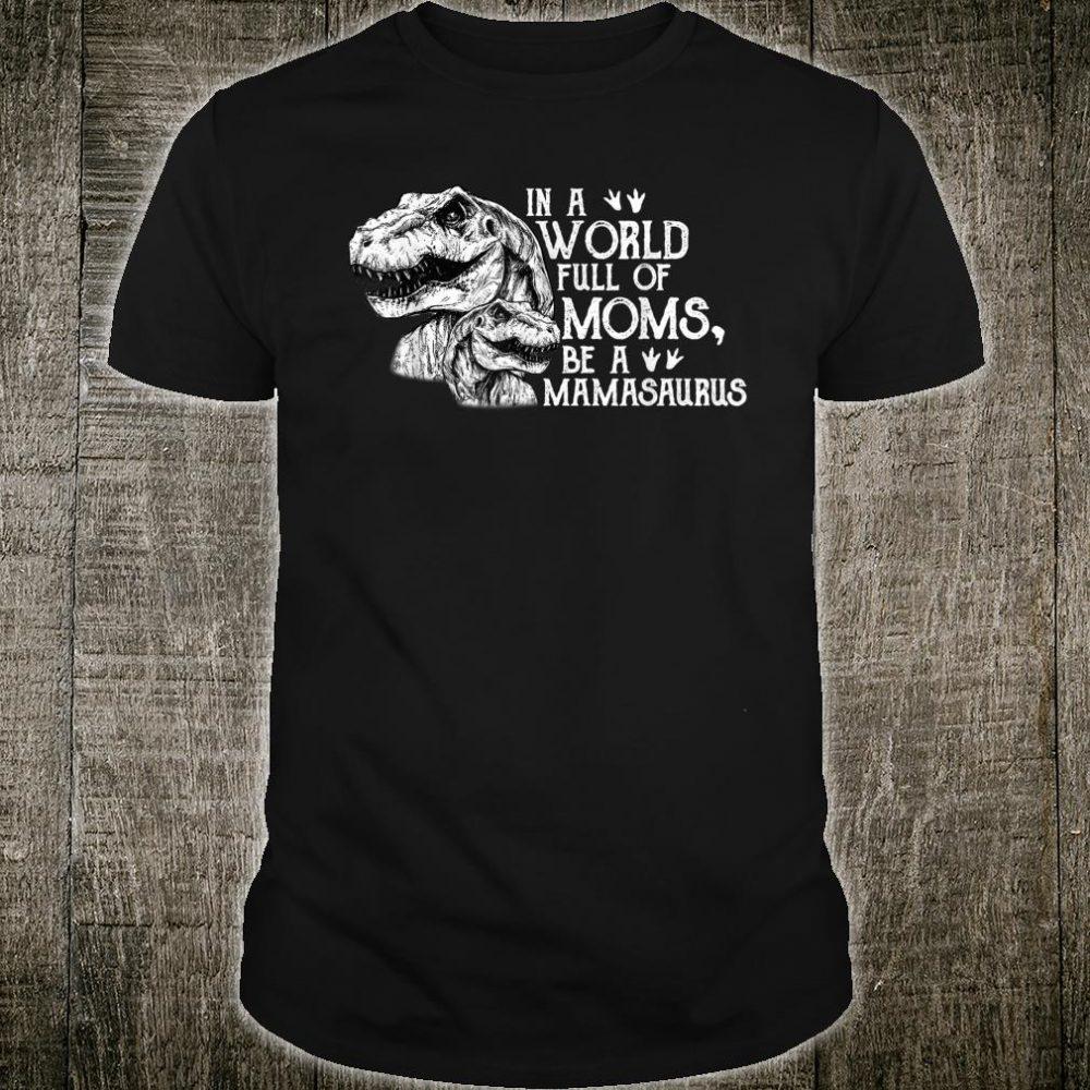 MamaSaurus Dinosaur Mom Shirt