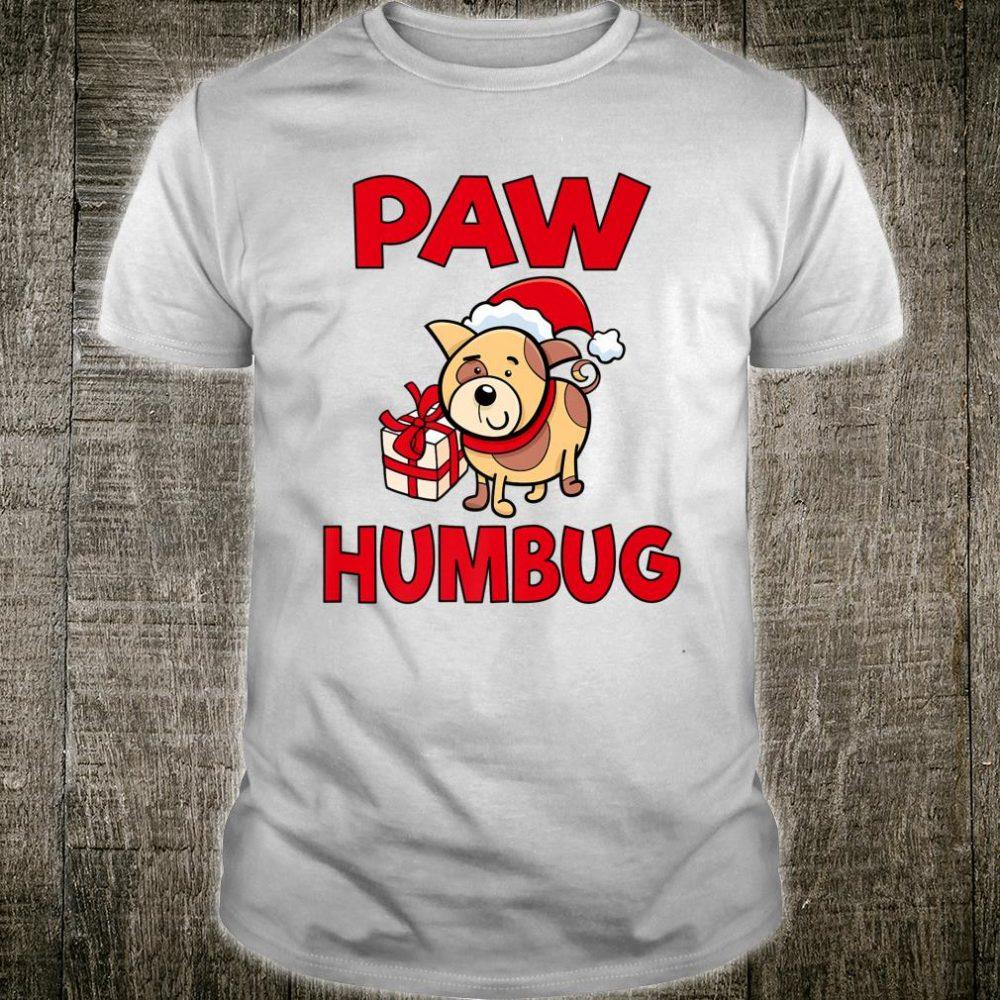 Paw Humbug Dog Funny Christmas Shirt