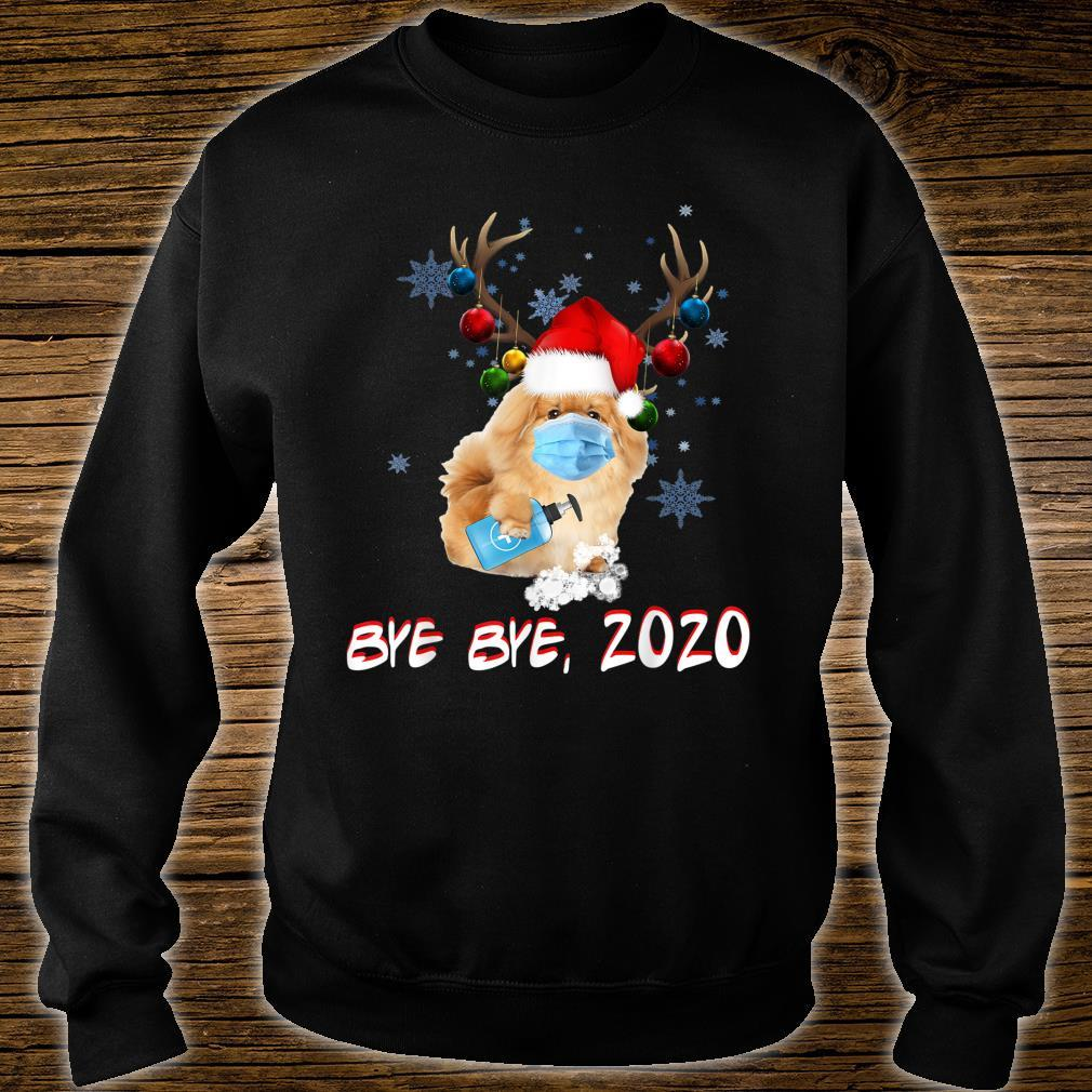 Pekingese Dog Bye Bye 2020 Christmas New Year Shirt sweater