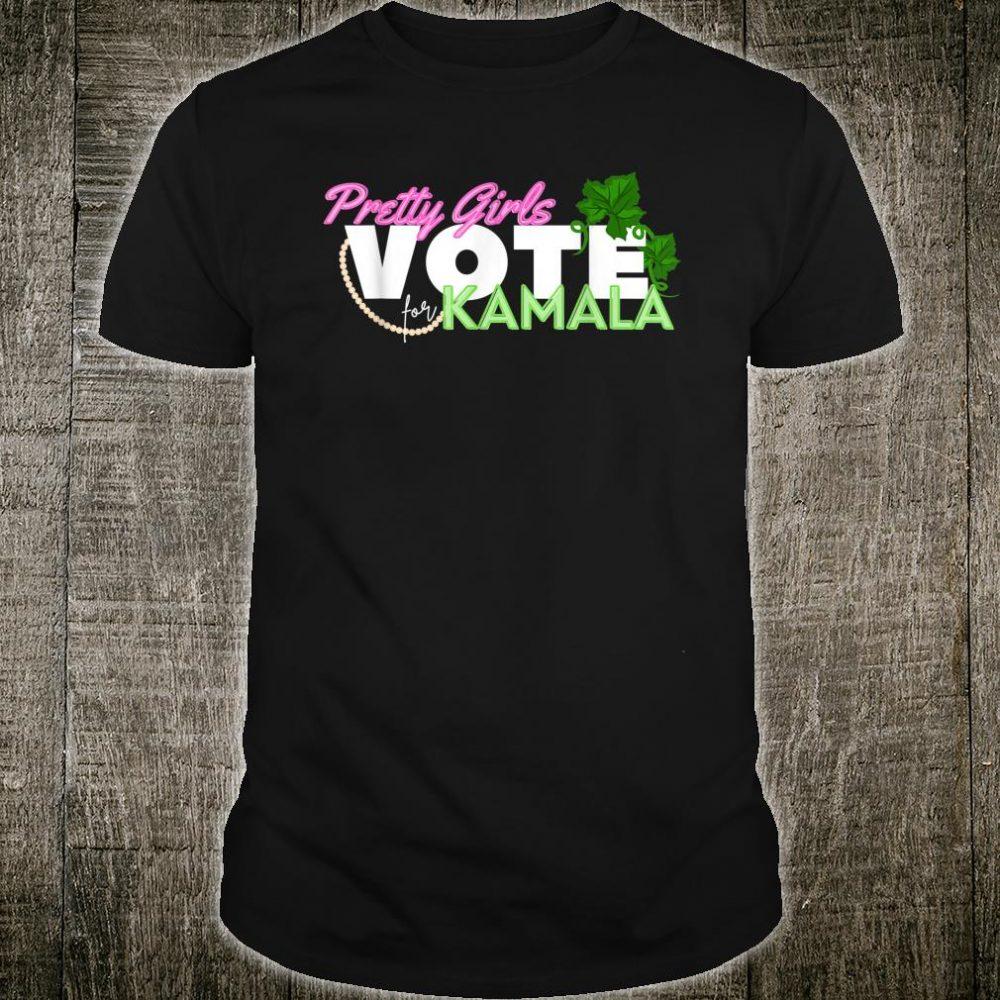 Pretty Girls Vote for Kamala Harris SororityVice President Shirt
