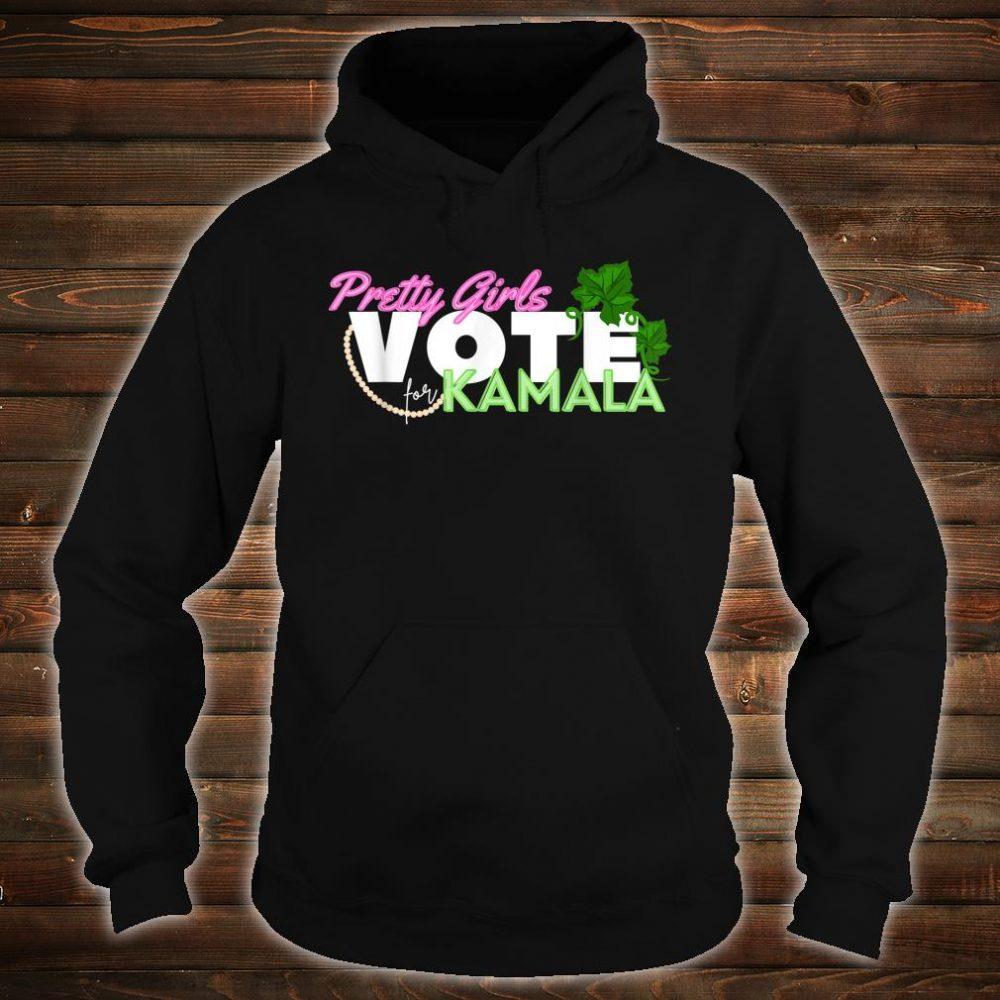 Pretty Girls Vote for Kamala Harris SororityVice President Shirt hoodie
