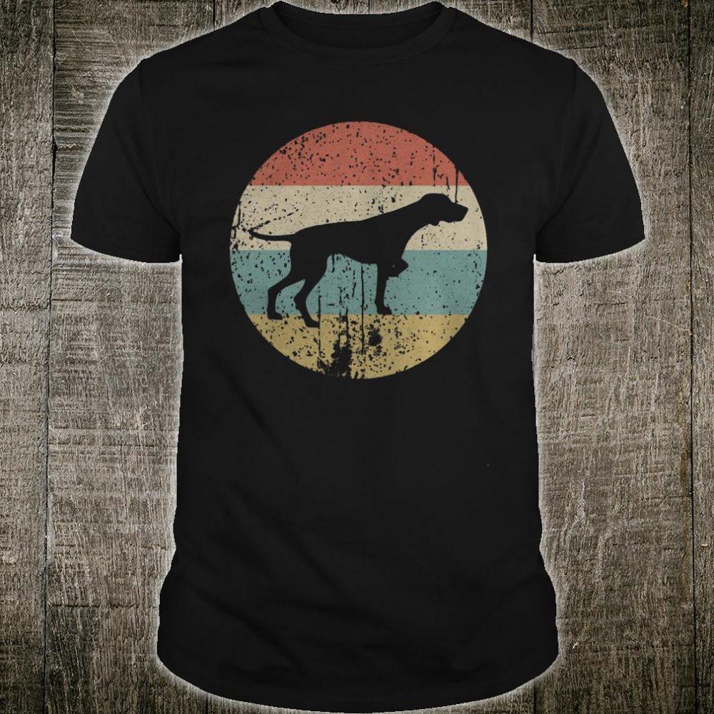 Retro German Shorthaired Pointer shirt