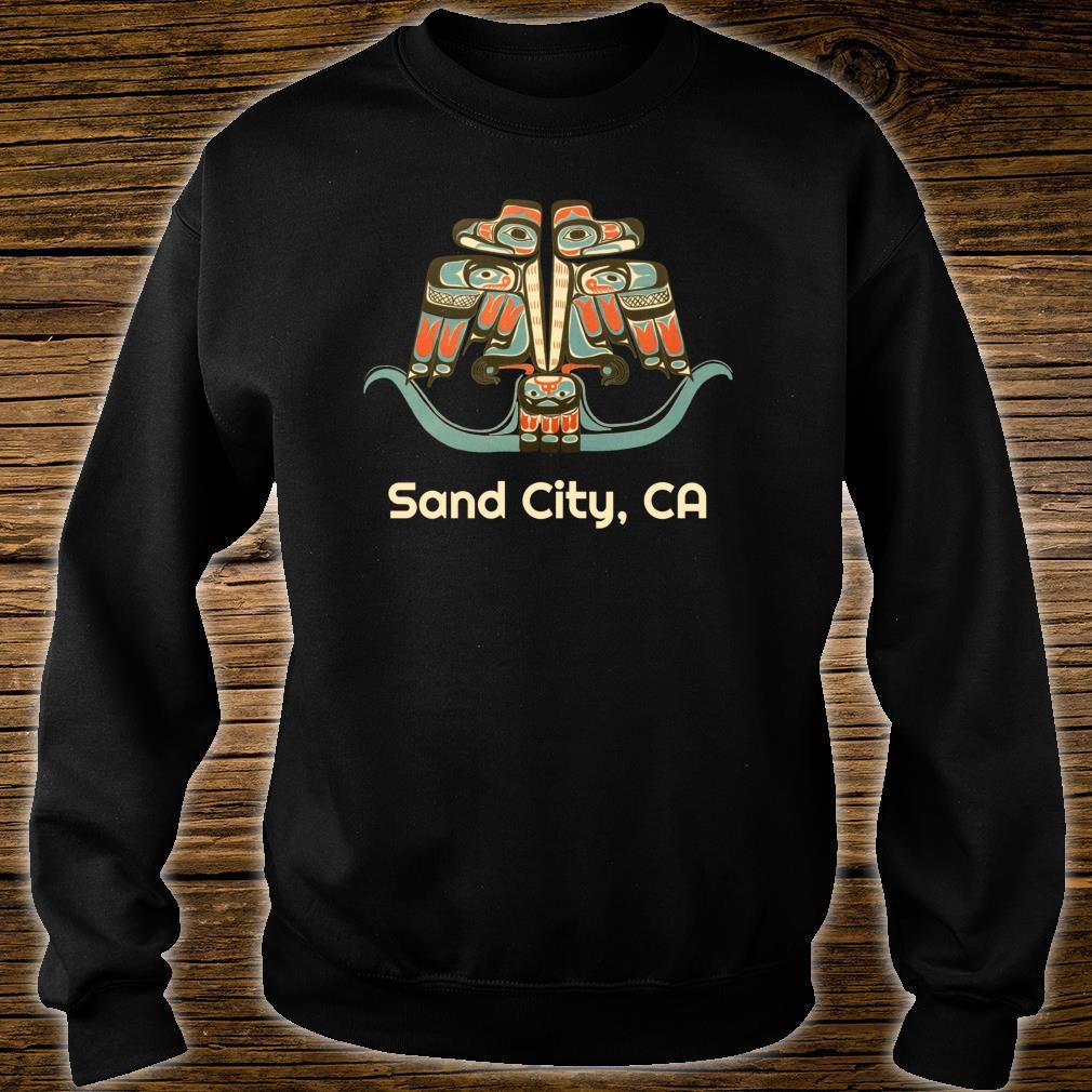 Sand City California Thunderbird NW Native American Shirt sweater