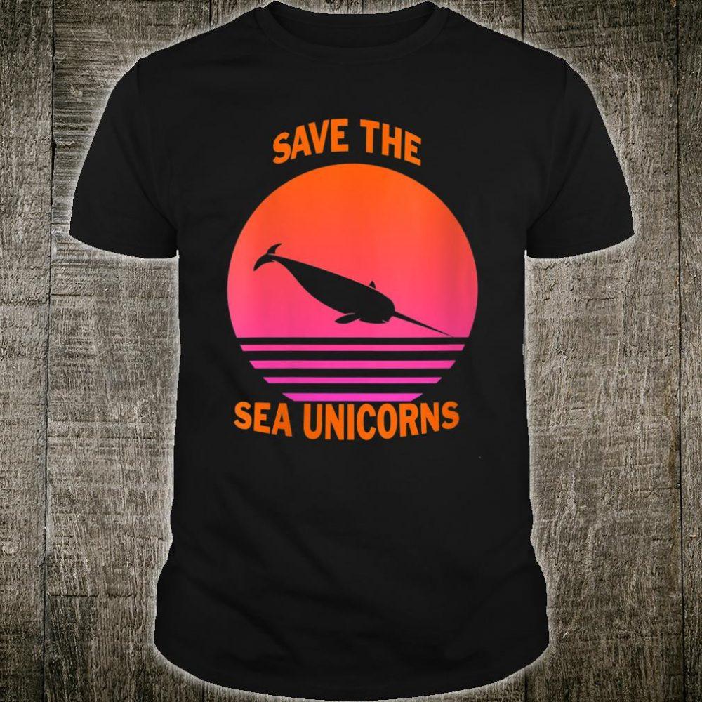 Save The Sea Unicorns Shirt