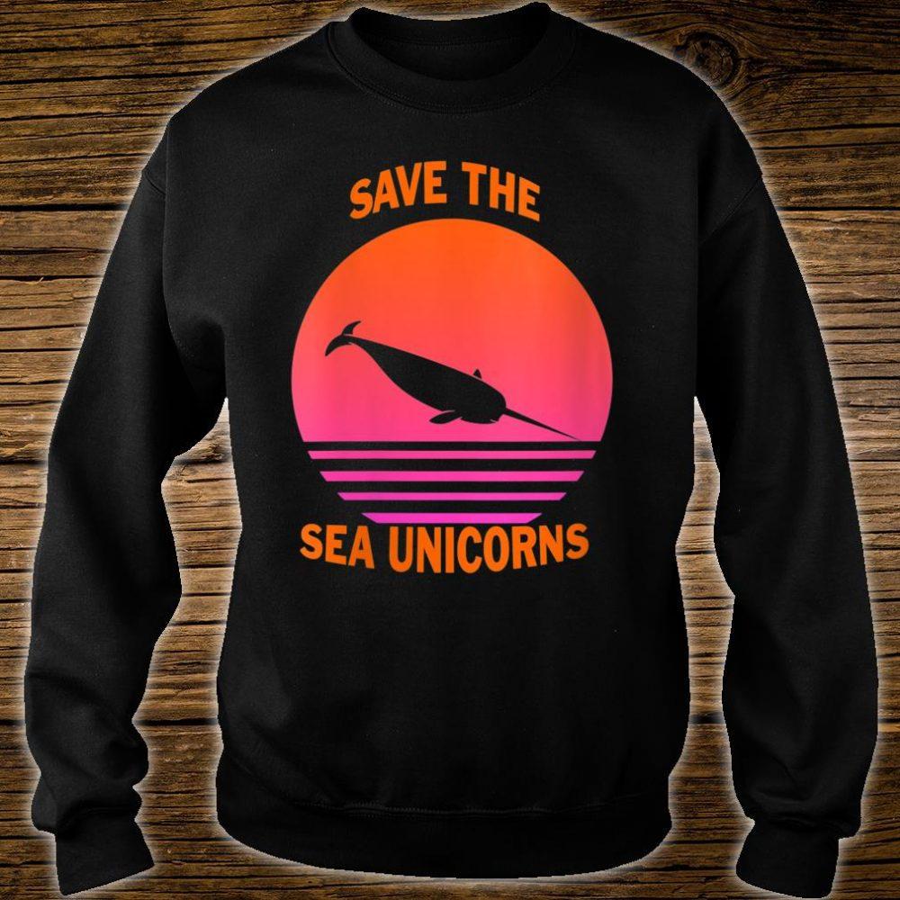 Save The Sea Unicorns Shirt sweater
