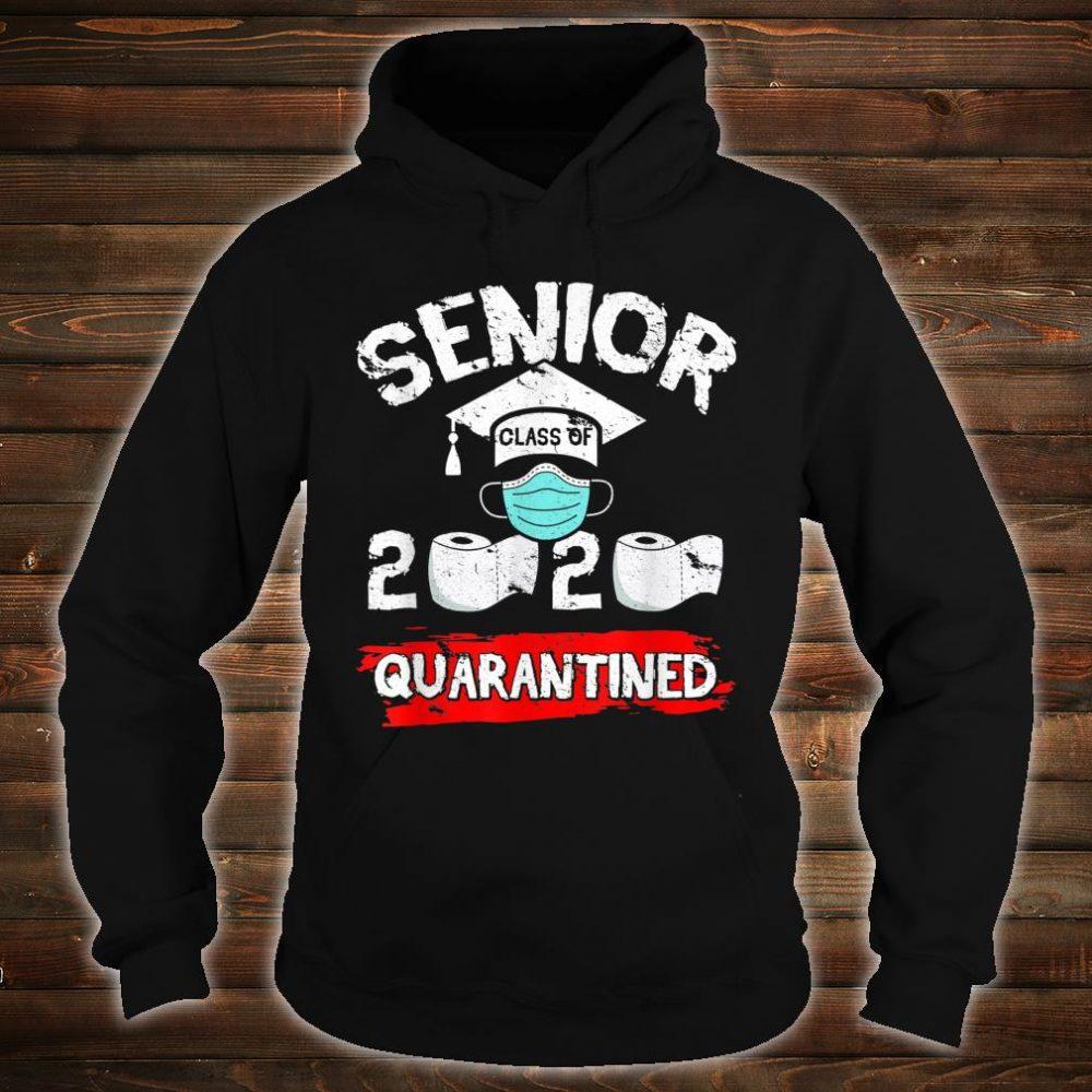 Senior Class Of 2020 Quarantine Toilet Paper Graduation Shirt hoodie