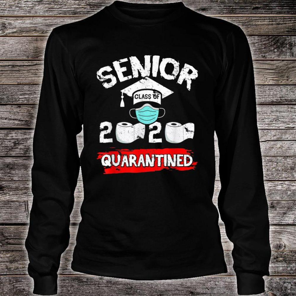 Senior Class Of 2020 Quarantine Toilet Paper Graduation Shirt long sleeved