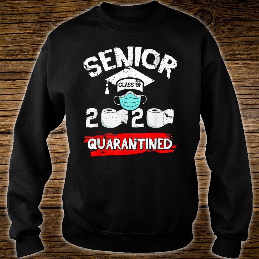 Senior Class Of 2020 Quarantine Toilet Paper Graduation Shirt sweater