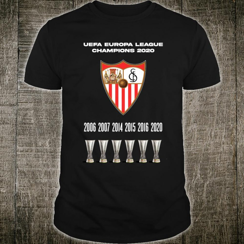 Sevilla Europa League Shirt