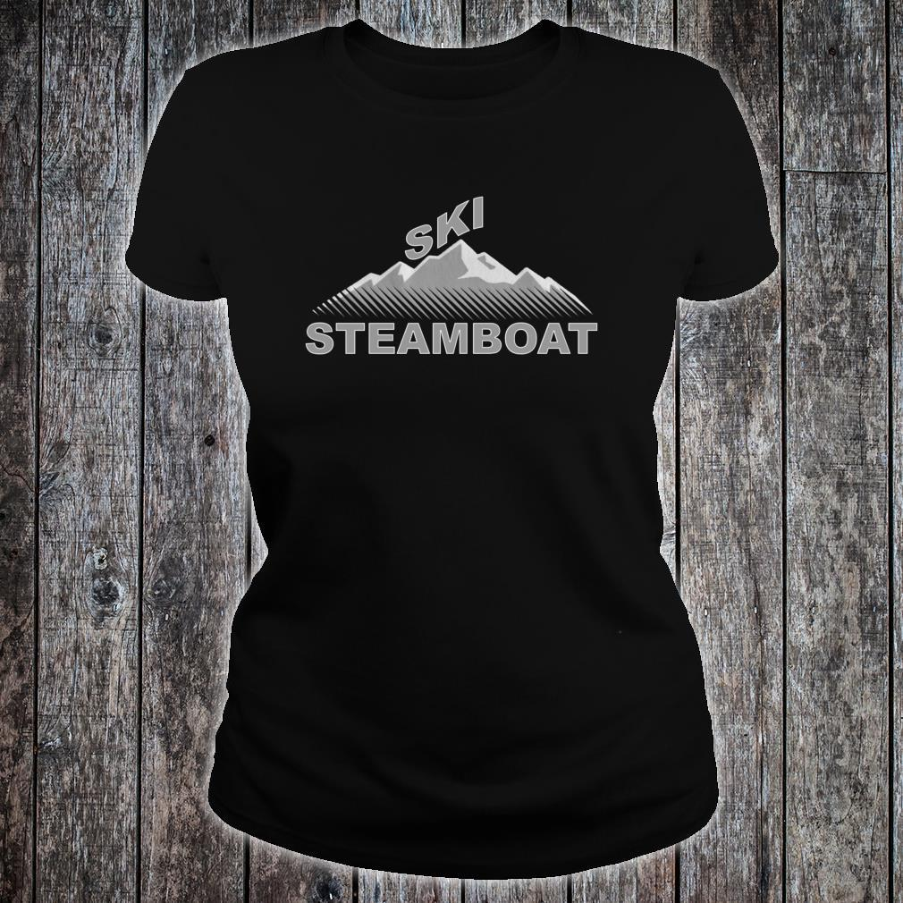 Ski Steamboat Shirt ladies tee