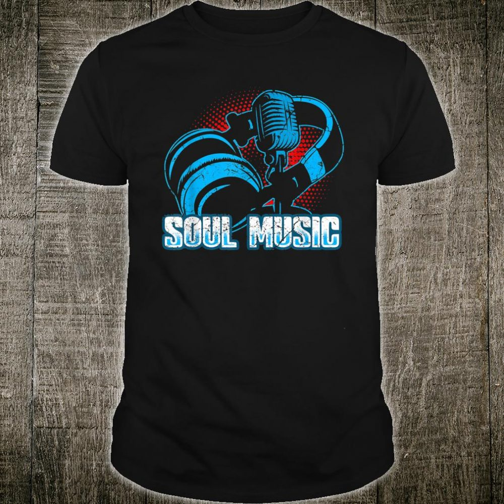 Soul Music Vintage 70s 80s Old School Shirt