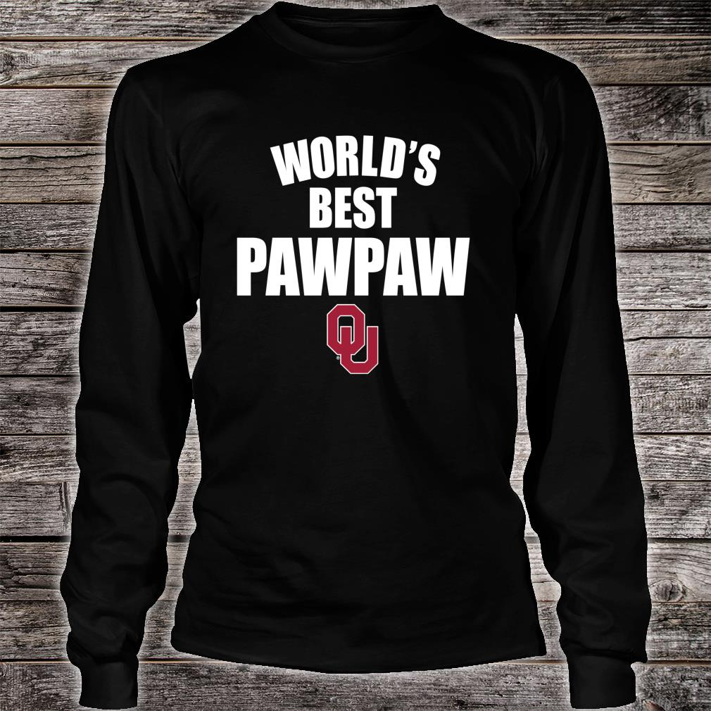 They Call Me Pawpaw Shirt Long sleeved