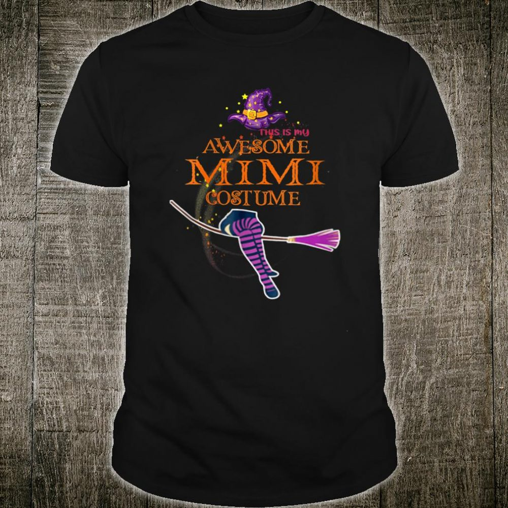 This Is My Awesome Mimi Costume Shirt